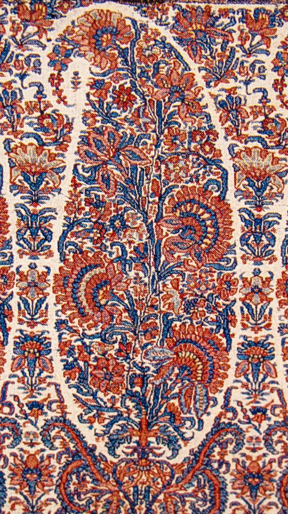 Buta on Kashmir Shawl. Afghan Period. Kashmir. Pashmina. ca. Early Mid 19th Century 575x1024 Kashmir Paisley Shawl and its Enduring Contribution to the Paisley Motif