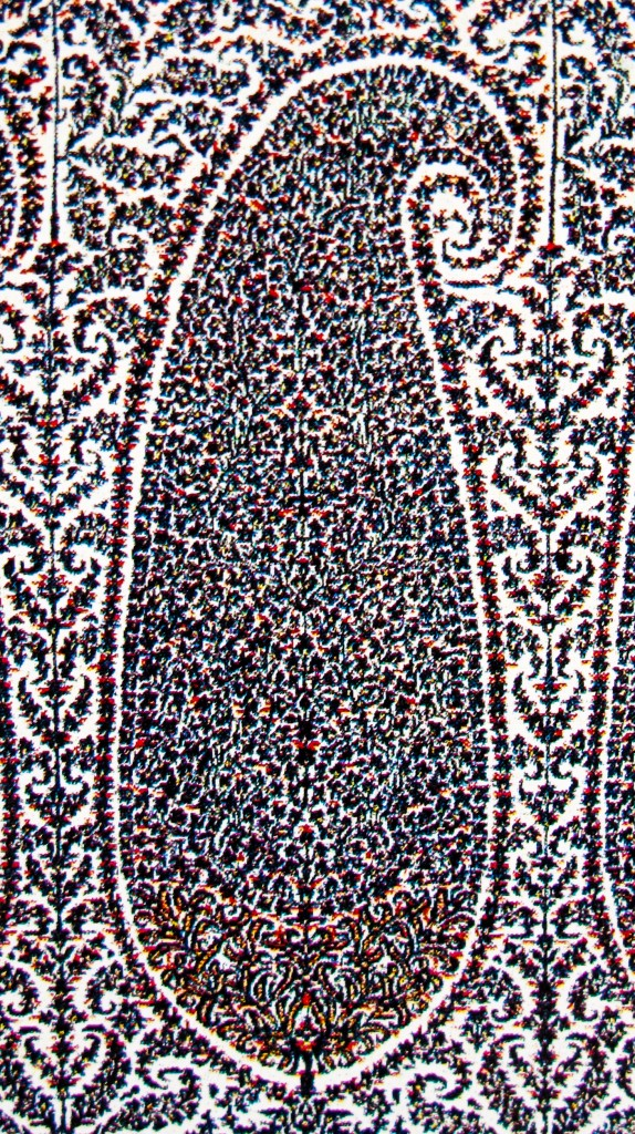 Buta on Kashmir Shawl. Sikh Period. Kashmir. Pashmina. ca. Mid 19th Century 574x1024 Kashmir Paisley Shawl and its Enduring Contribution to the Paisley Motif