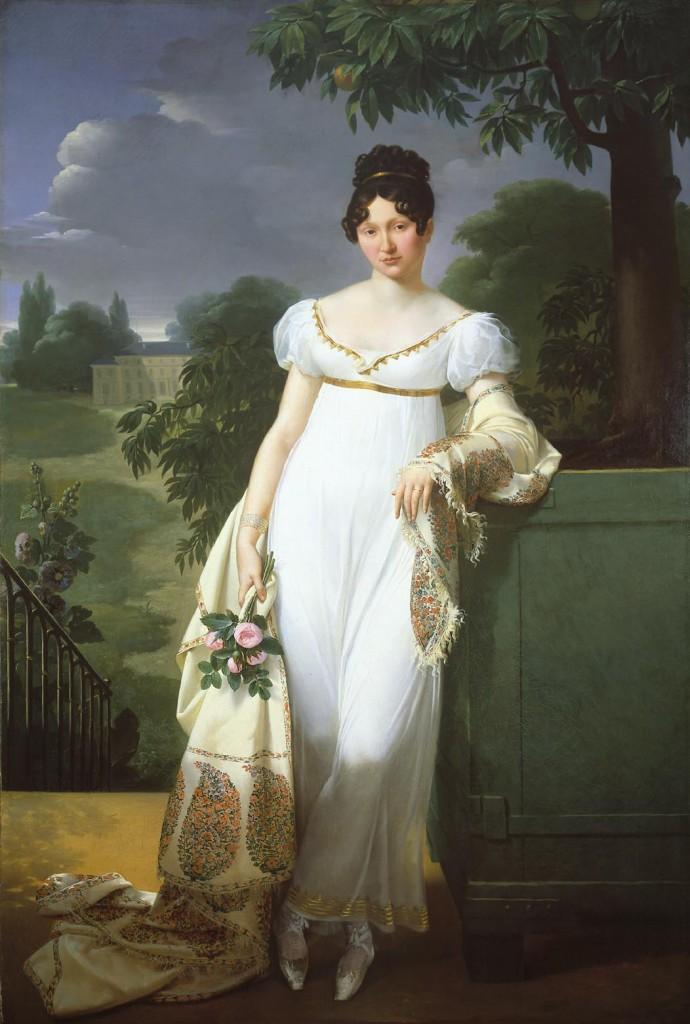 Merry Joseph Blondel   Felicite Louise Julie Constance de Durfort 690x1024 Kashmir Paisley Shawls: Defining Love for Over 300 Years