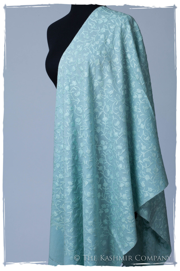 Glacier Secret Garden Shawl Seasons Kashmir Company The Secret Garden Collection: Add a Dash of Magic to Your Wardrobe