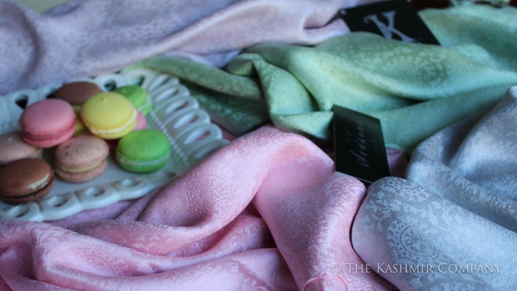 Laduree Silk Collection Seasons Paris Kashmir Company detail 1024x576 Ladurée Silk Scarf Collection: Inspired by Laduree Paris