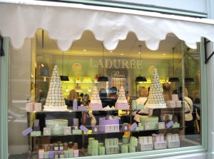 Laduree shop 300x224 Ladurée Silk Scarf Collection: Inspired by Laduree Paris