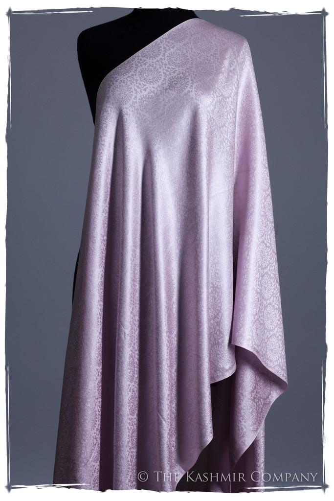 Lavender Fog Paisley Silk Scarf Shawl Seasons Kashmir Company Ladurée Silk Scarf Collection: Inspired by Laduree Paris