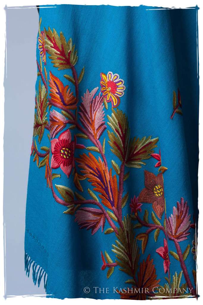 Capri Breeze Renoirs Dream Shawl Seasons Kashmir Company Wrap the Fine Art of Renoir around Your Shoulder with the Renoir's Dream Shawl Collection