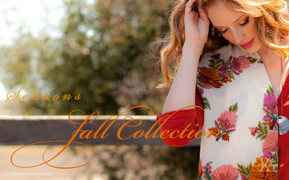 Seasons Fall Collection Shawls Luminous warmth, Timeless style   Seasons Fall Collection