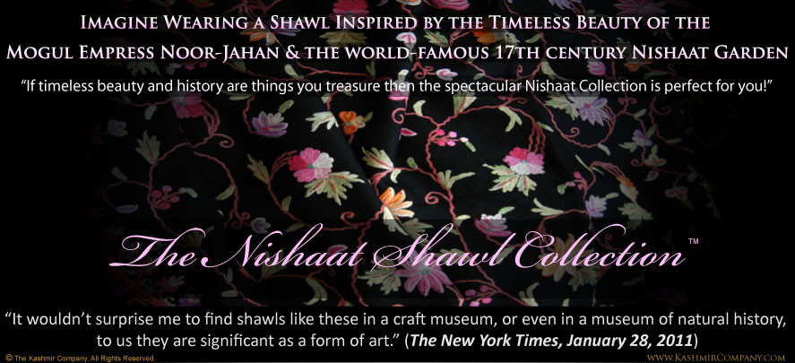 The Nishaat Shawl Collection