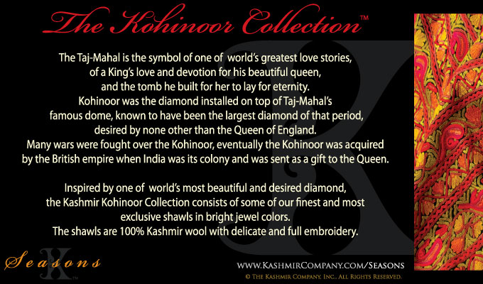 The Kohinoor Shawl Collection