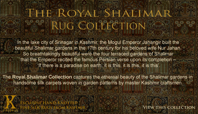 The Royal Shalimar Rug Collection