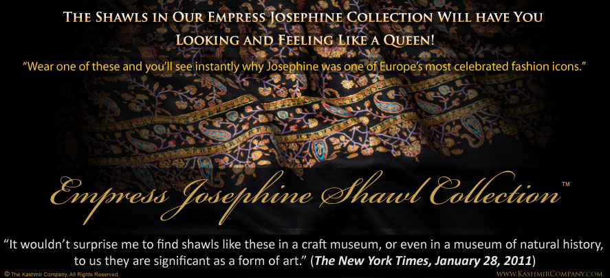 The Empress Josephine Shawl Collection