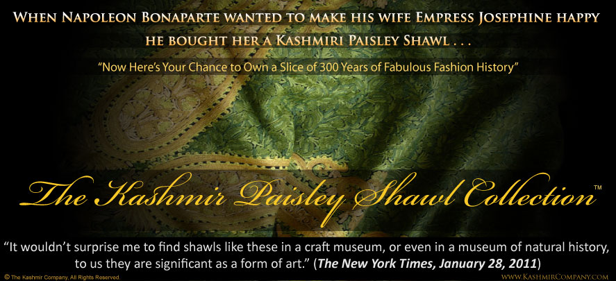 The Kashmir Paisley Shawl Collection