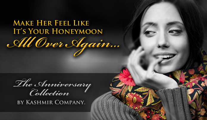 Anniversary Gifts by The Kashmir Company